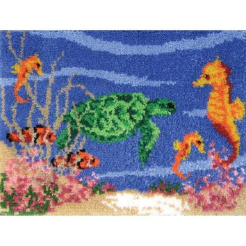 "Under The Sea Latch Hook Kit 27""X20"""