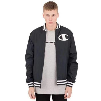 Champion Tide brand spring and autumn couples couples coach jacket jacket black