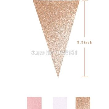 pack  Twinkle  White  Paper  Banner  Girls  First  Birth