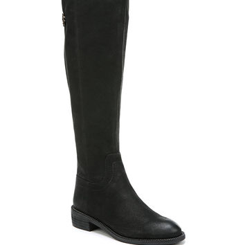 Franco Sarto Brindley Tall Boot with Chain Gore - Wide Calf
