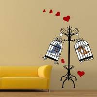 Wall Art Home Decor Wall Sticker Wallpaper Decoration Mural Decal Love Birds