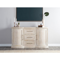 Kosas Home Norman Antique White Solid Wood Sideboard | Overstock.com Shopping - The Best Deals on Buffets