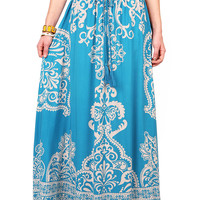 Serene Baroque Maxi Skirt | Skirts at Pink Ice