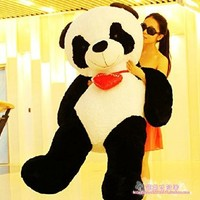 Huanyu Instrument®Christmas/Birthday gift Giant Huge Big 160cm Panda/Bear Stuffed Plush Animal Toy
