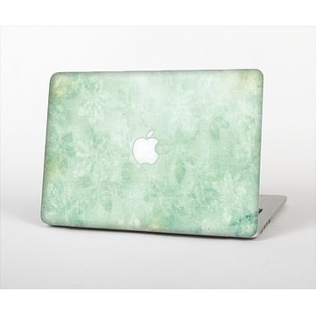 The Vintage Grungy Green Surface Skin Set for the Apple MacBook Air 11""