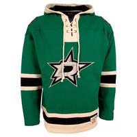 Dallas Stars Heavyweight Jersey Lacer Hoodie