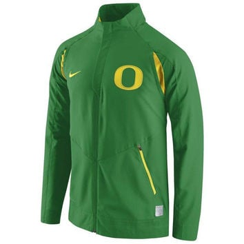 Oregon Ducks Nike Hyper Elite Dri-Fit On Court Game Jacket NCAA PAC 12