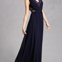 Soieblu Crepe Maxi Dress