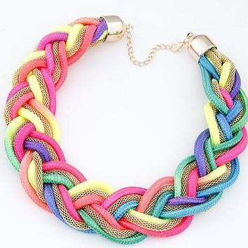 Shiny New Arrival Jewelry Gift Vintage Stylish Strong Character Chain Necklace [6058291777]