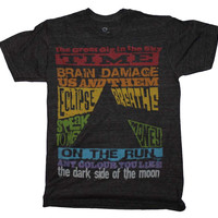 Pink Floyd Dark Side Tracks Triblend T-Shirt