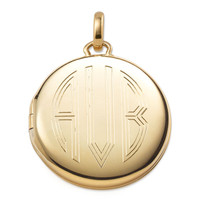 Signature Engravable Memento Locket