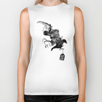 Ashes to Ashes Biker Tank by Budi Satria Kwan