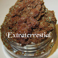 NEW Extraterrestial Duochrome Blue/Green Green Sparkles Mineral Eyeshadow Mica Pigment 5 Grams Lumikki Cosmetics