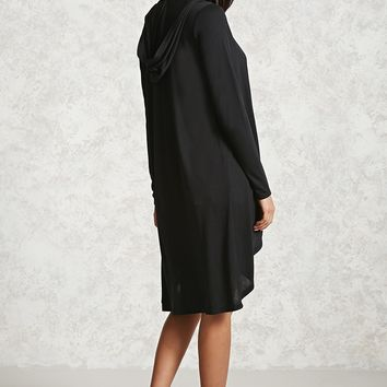 Hooded Longline Cardigan