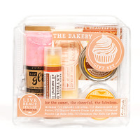 The Bakery Gift Set - All Natural Body Product Gift Set - Lip Balm, Lip Butter, Lip Jelly, Lip Gloss