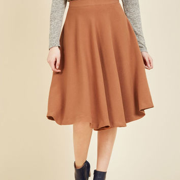Field Notable Midi Skirt