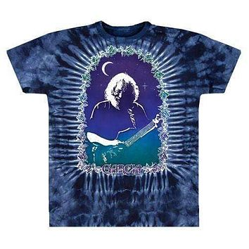 Jerry Garcia Jerry Roses Tie Dye T-Shirt