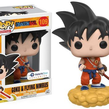 Goku & Flying Nimbus (Orange)