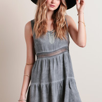 Cloudy Skies Tunic Dress