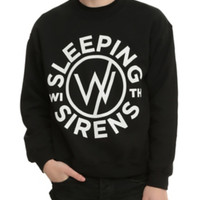 Sleeping With Sirens Logo Crew Pullover