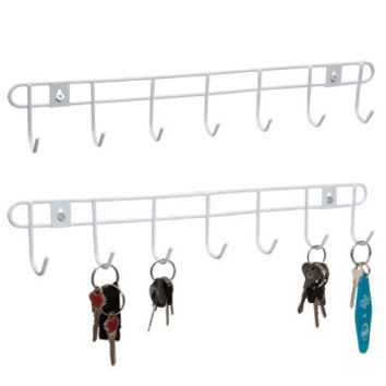 Bulk 7-Hook Wall-Mount Wire Racks at DollarTree.com