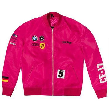 Club Foreign Germany Racing Jacket Pink - Beauty Ticks