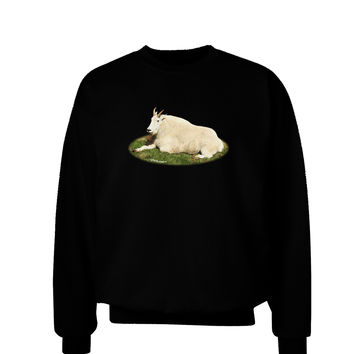 Ram Cutout Adult Dark Sweatshirt