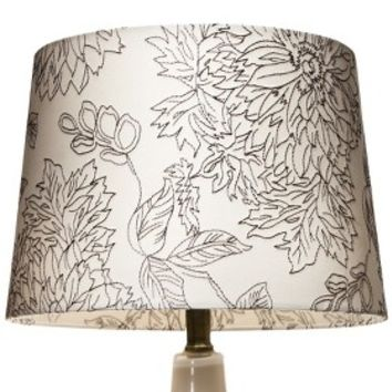 Threshold™ Floral Toile Stitch Lamp Shade
