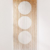 Big Dot Bamboo Beaded Curtain | Urban Outfitters