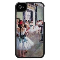 Edgar Degas - The dance class Case For The iPhone 4 from Zazzle.com