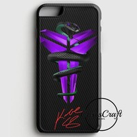 kobe bryant nba black mamba on carbon iphone 6 plus 6s plus case casescraft  number 1