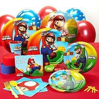 Party Destination 191198 Super Mario Bros. Standard Party Pack