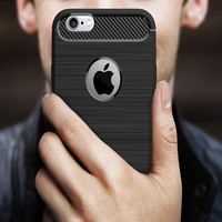 Effelon Case For iPhone 6 /6s plus Brushed Drawing Silicone Cover Cases For Case iPhone 6 6s Plus Mobile Phone Shell Coque<
