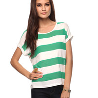 Striped Front Top