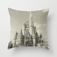 Walt Disney World Throw Pillow by Abigail Ann | Society6