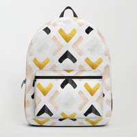 Geometric Marble Backpacks by lostanaw