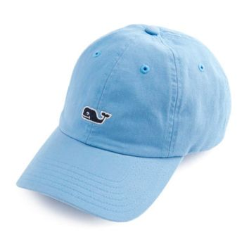 Vineyard Vines Signature Whale Logo Baseball Hat- Ocean Breeze