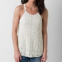 Eyeshadow Embroidered Tank Top