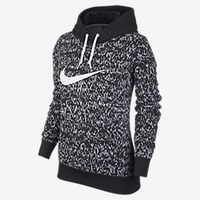 NIKE CLUB ALLOVER PRINT PULLOVER
