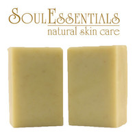 Organic Soap - Oatmeal - Unscented- Vegan - Natural and Organic Skin Care - Sensitive Skin - Baby Skin