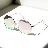 Quay Kiss And Tell Sunglasses Rose Pink