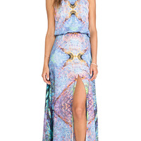 Alexis Nervis Maxi Dress in Blue