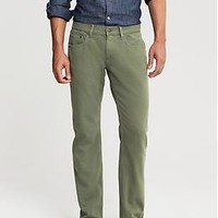 Vintage Straight-Fit Five-Pocket Pant