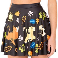 Jiayiqi Famous Cartoon Animal Skater Skirt for Women's Dancing Party Dress