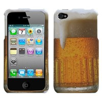 MYBAT Beer-Food Collection Phone Protector Cover for APPLE iPhone 4S/4
