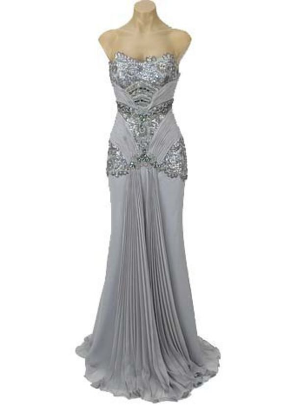 Vintage Style Evening Gown 34