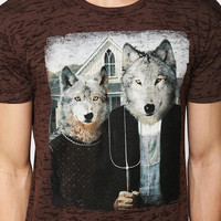 Wolf American Gothic Tee - Urban Outfitters