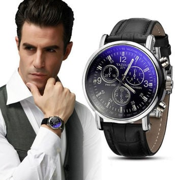 Creative Fashion Men Necessary Business Watch Luxury