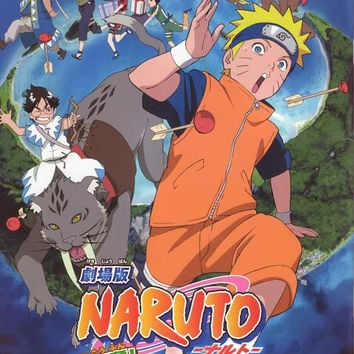 Naruto the Movie 3: Guardians of the Crescent Moon Kingdom (Japanese) 11x17 Movie Poster (2006)