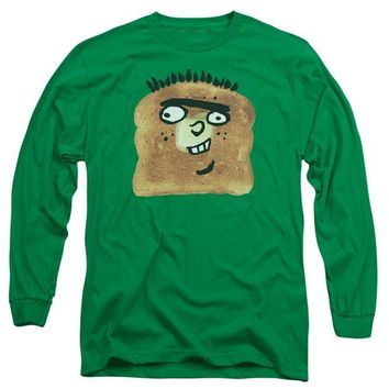 ac NOOW2 Ed Edd N Eddy - Ed Toast Long Sleeve Adult 18/1